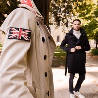 """Only for London lovers 🇬🇧  the #trench #coat for the autumn season is the """"must have"""" garment  #verdelliboutique #trench #londonstyle #newbrand #creamy #details #londonlovers #londoncoat"""